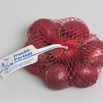 onions - knitted tubular net bag